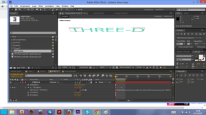 three d screen shot 1